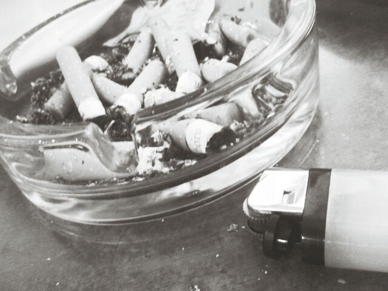 Smoke Cigaretes Cold Days