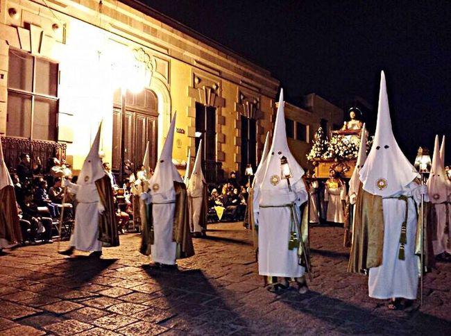 Procesion Del Silencio San Luis Potosí Onceayear Mexico Tradition