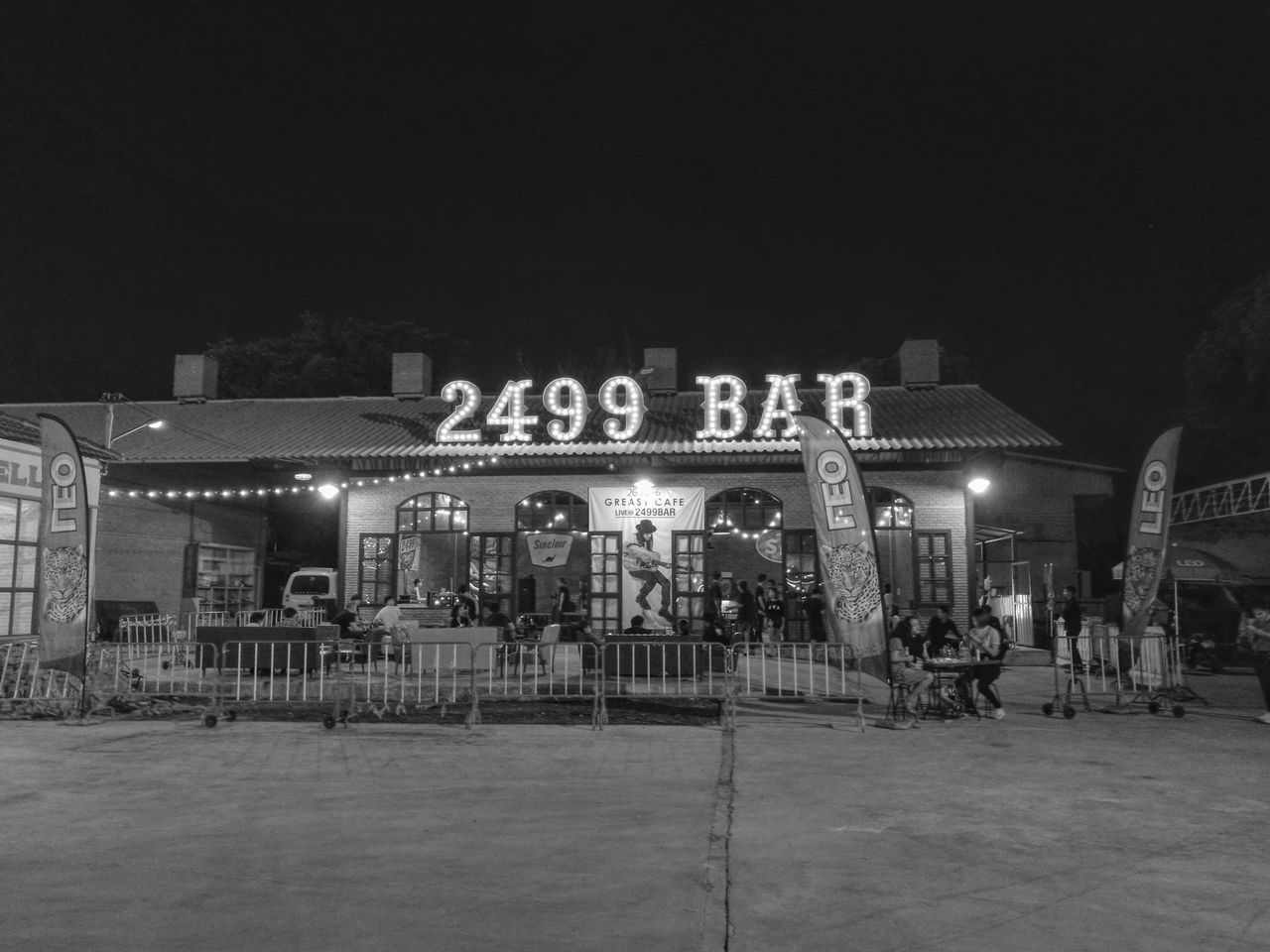 Traveling Home For The Holidays Film Industry Night Outdoors Vintage 60's Style.... 70's Style ร้านมันเก่าดี Bar