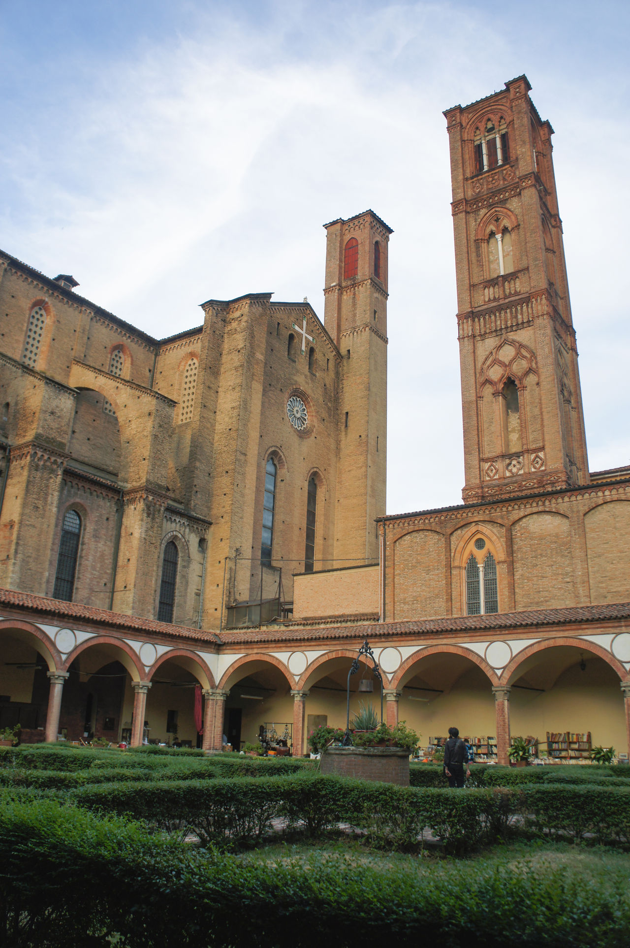 Architecture Basilica Bell Tower Chiostro Church Cloister Culture Gothic Style History Outdoors Tourism Travel Destinations