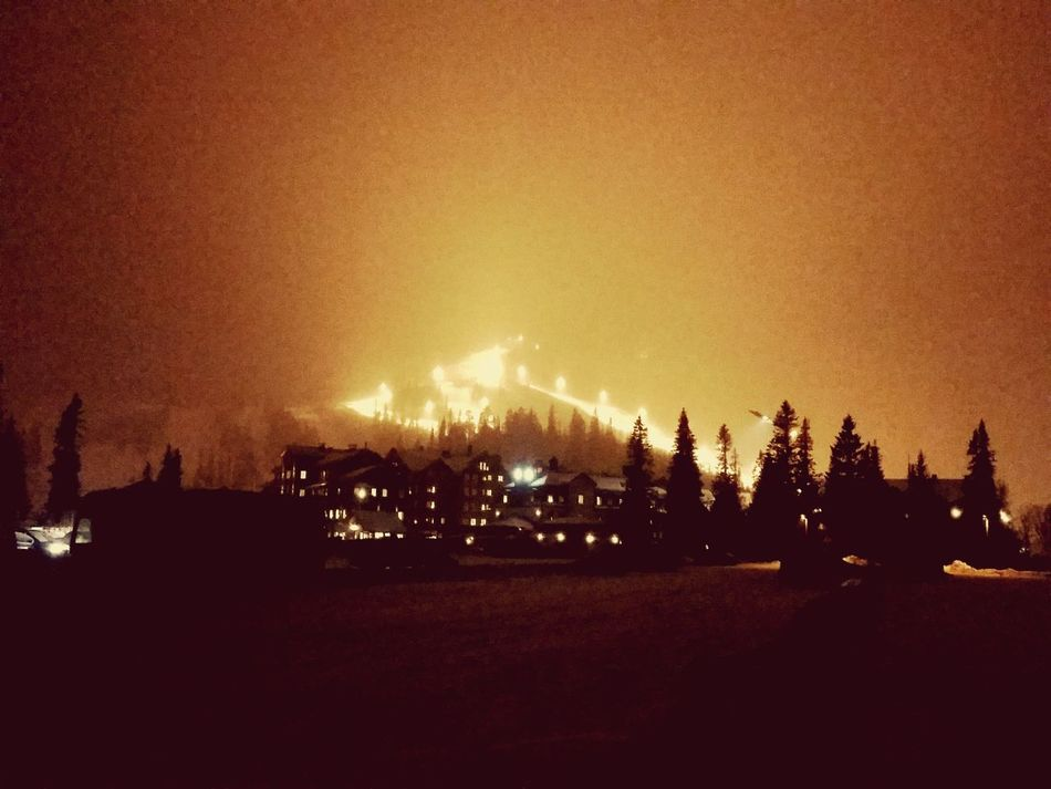 Vemdalen 2017... Night Tree Outdoors Sky Nature Skiing Ski Snow Winter Cold Temperature Miuntains Like Beauty In Nature Stage Light Nightlife Night View Night Life Nightview Nightwalk