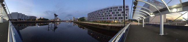 This city is just so beautiful!! Glasgowbridge City PeopleMakeGlasgow Panorama