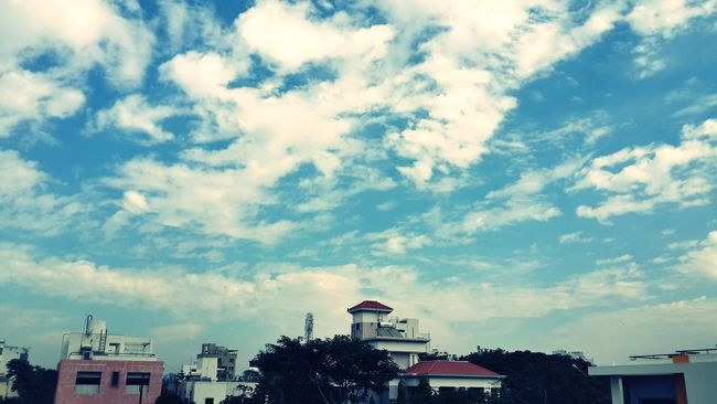 Cloud - Sky Sky Travel Destinations Architecture City Horizontal No People Outdoors Day Standing