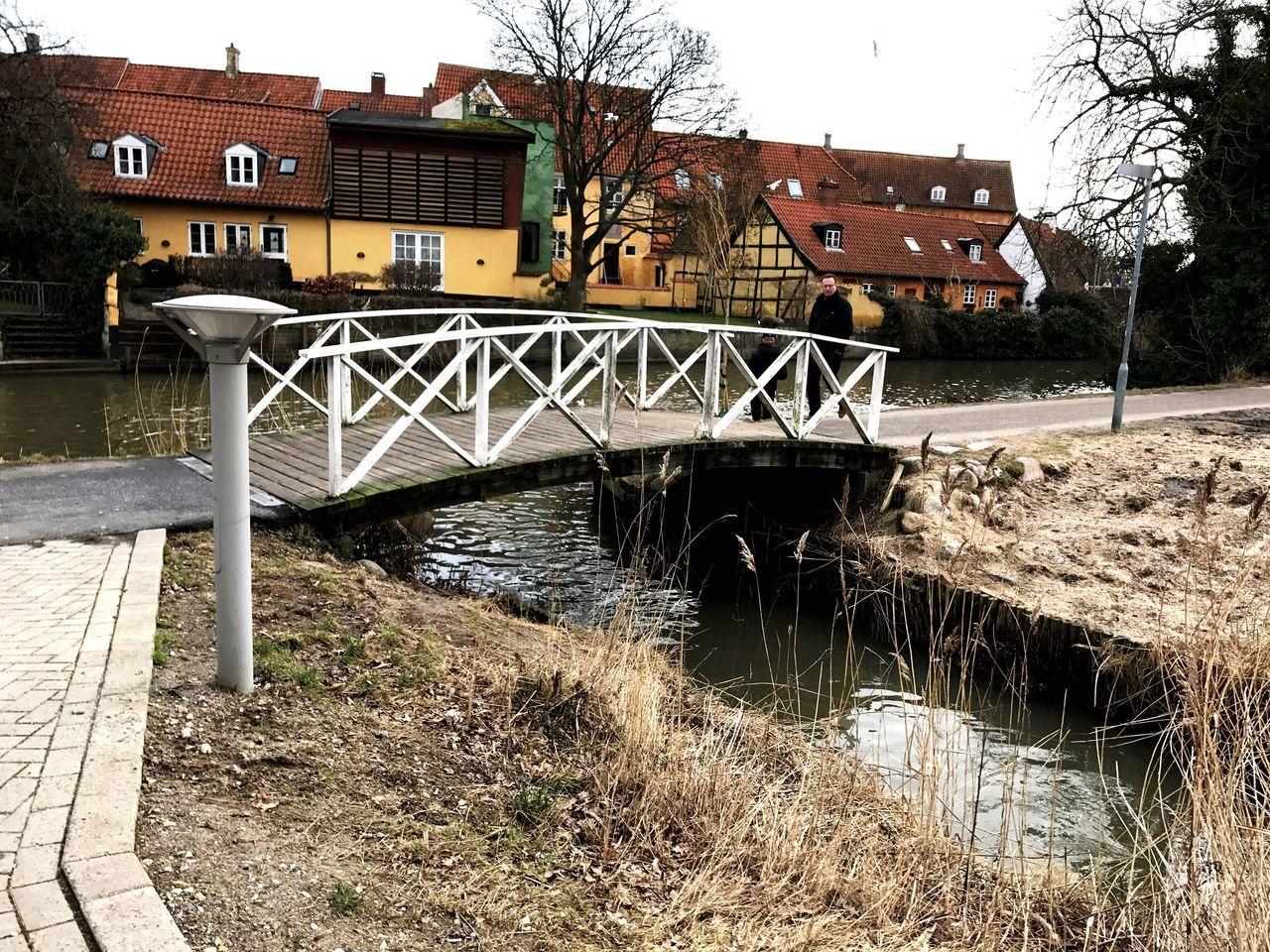 Bridge - Man Made Structure Water City No People Danmark