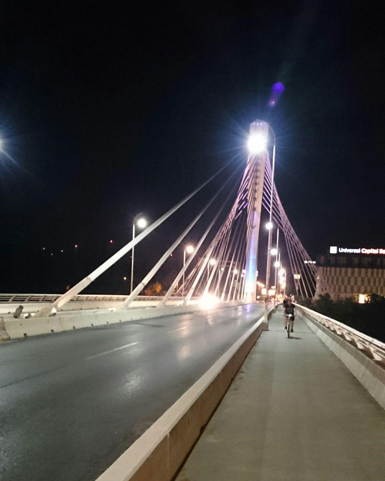 Nofilter Nofilternoedit Nightphotography Bridge Moonlight Montenegro Podgorica Podgorica, Montenegro Balkans Calmness Millenium Bridge Nightwalk Cityscapes Citylife Capital Citycenter Lights Enjoying Life Modern