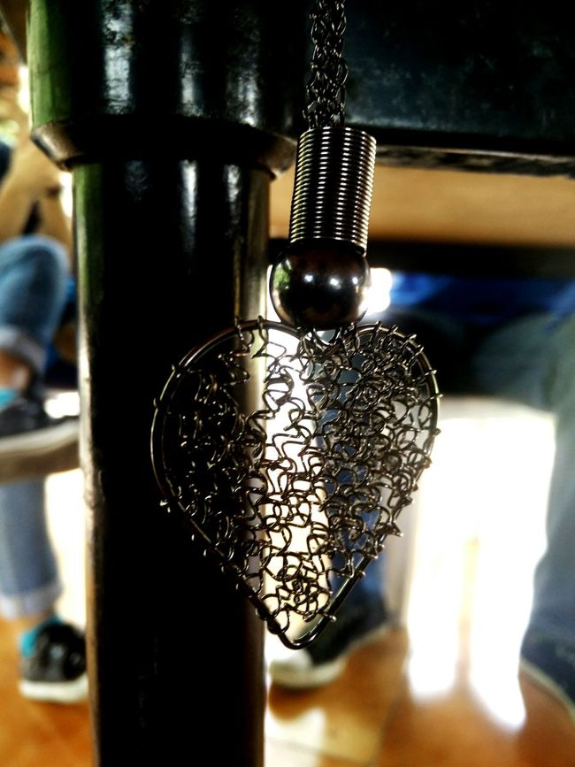 When your Heart chains you to friends!! Close-up Focus On Foreground Hanging Out Ornament