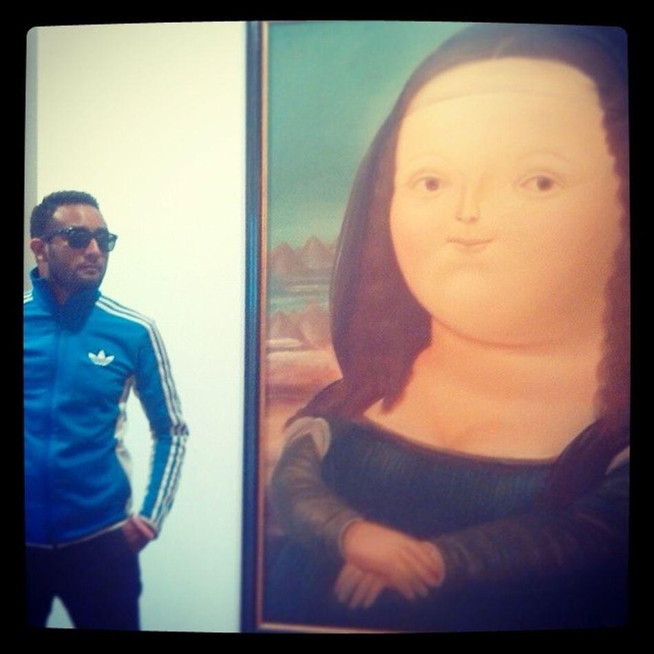La Mona Lisa ArteEnBogota Botero