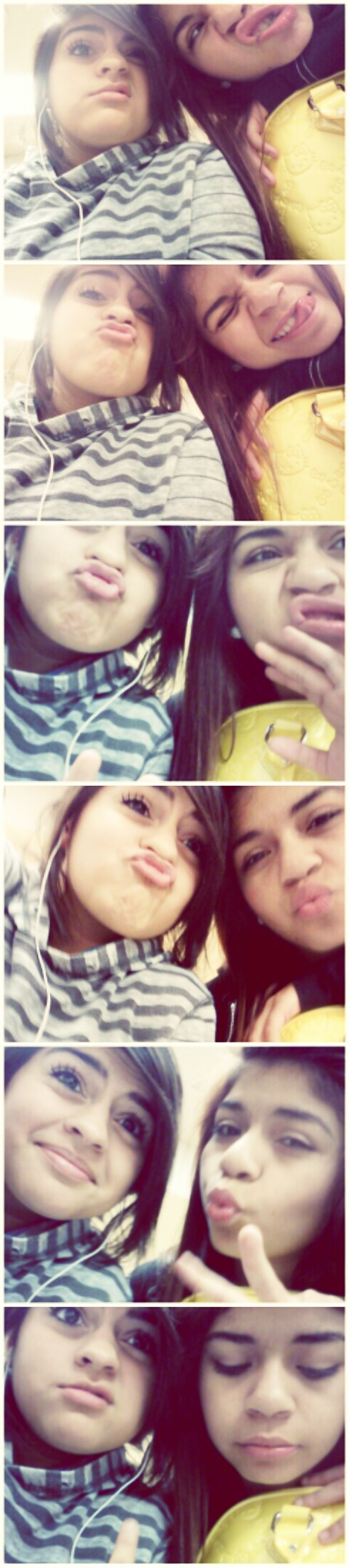 me & MY Bestfriend on our ugly days but oh well were still pretty ;)