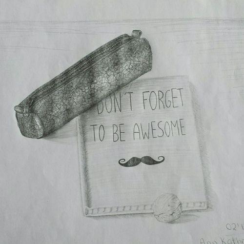 Schnurrbart Drawing Zeichnung  Bleistift
