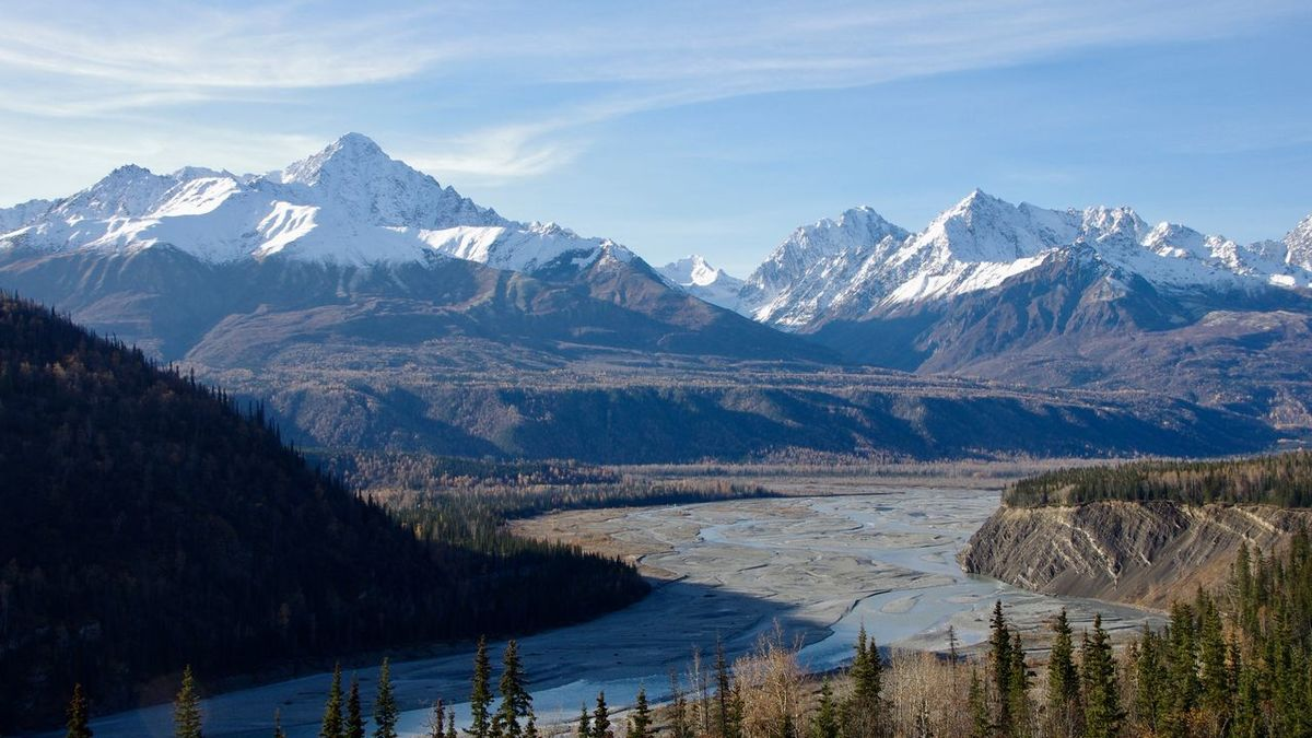 Chugach Mountains Mountain Tranquil Scene Mountain Range Water Scenics Snow Winter Snowcapped Mountain Season  Cold Temperature Tranquility Beauty In Nature Tree Nature Weather Lake Non-urban Scene Sky Travel Destinations Geology
