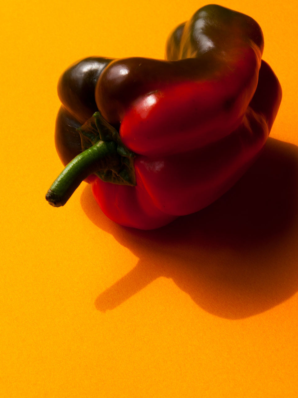 food and drink, vegetable, still life, studio shot, bell pepper, food, healthy eating, no people, red bell pepper, freshness, pepper - vegetable, close-up, raw food, spice, table, indoors, shadow, day