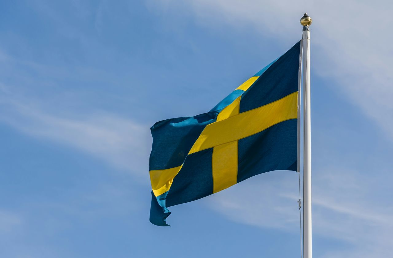 Beautiful stock photos of sweden, Blue, Close-up, Day, Flag
