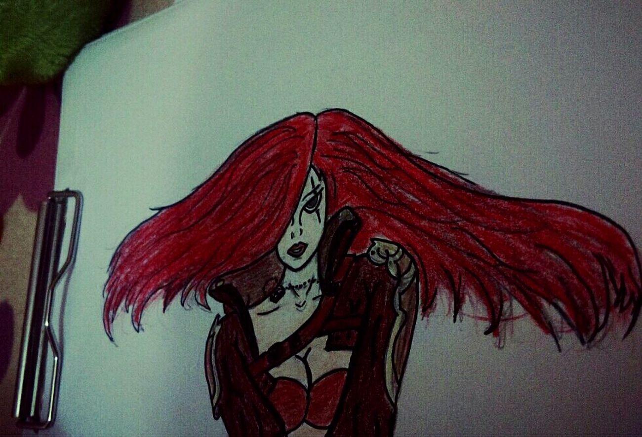 😅 LeagueofLegends Katarina Drawing