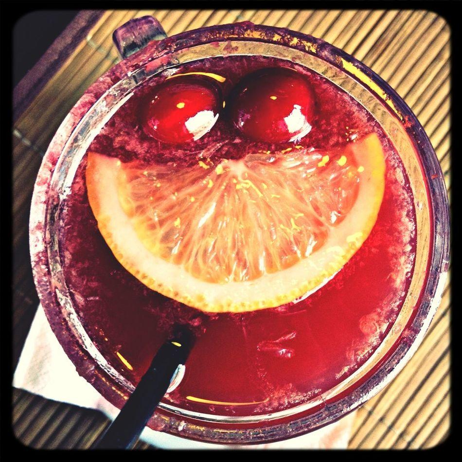 Smile? Drink