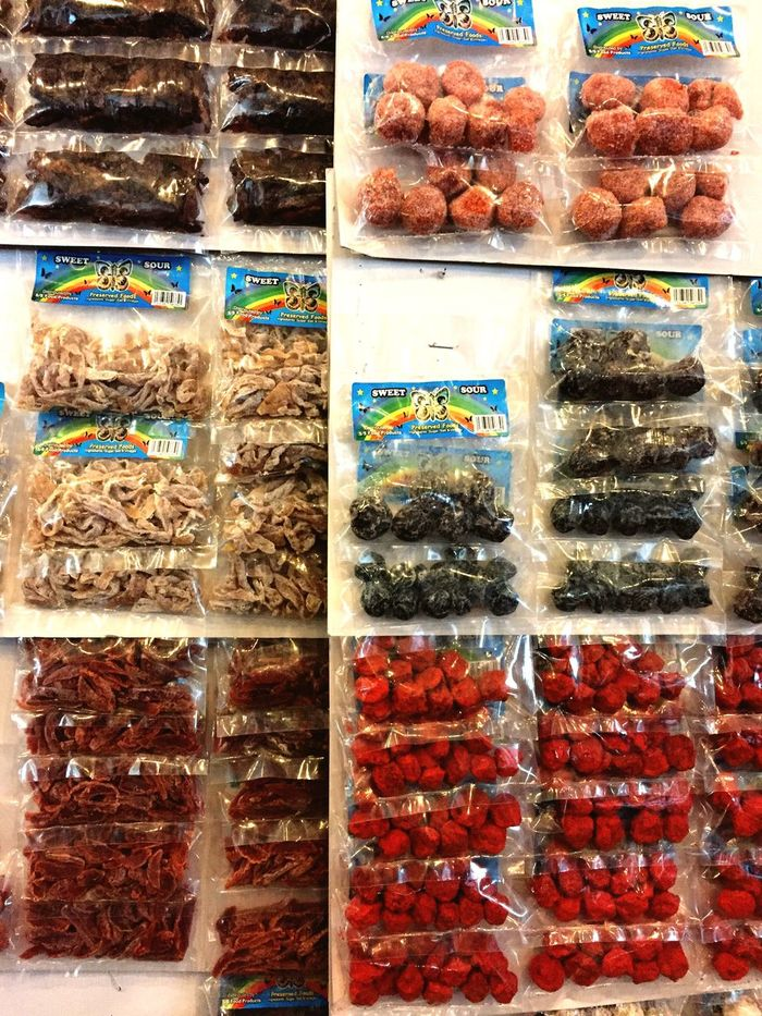 Preserved fruits and berries, peddled the old fashioned way. Malaysia Sarawak Kuching Preserves Preserved Preserved Fruit Fruit Variation Food And Drink Choice Retail  Large Group Of Objects For Sale Multi Colored Abundance No People Candy Food Freshness Indoors  Sweet Food Day Supermarket