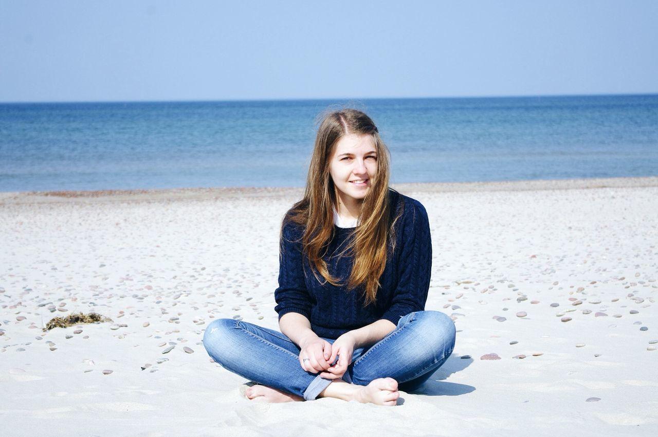 Beautiful stock photos of mädchen, 20-24 Years, Beach, Beautiful Woman, Beauty In Nature