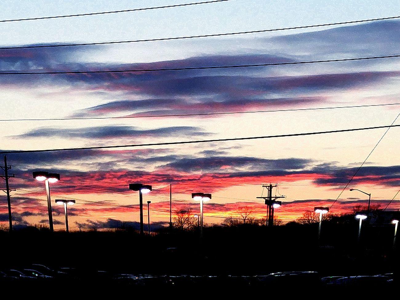 A beautiful sunsets