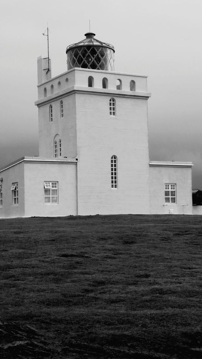 Lighthouse Blackandwhite Black & White Iceland Taking Photos Outdoor Nature Contryside Nature Vr Man