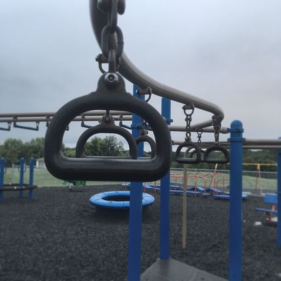 Outdoor Play Equipment Playground Empty Rings