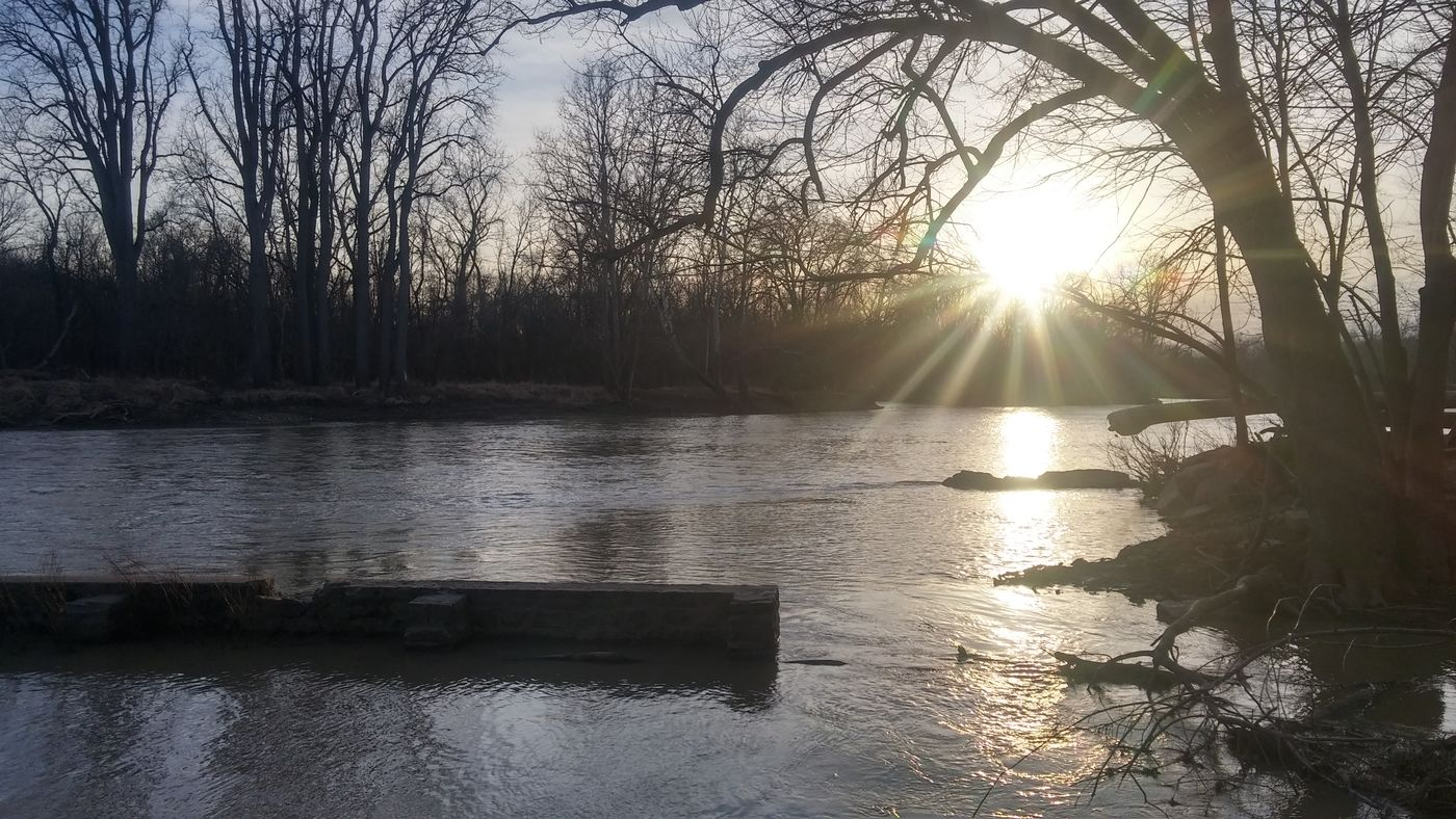 Nature Photography River Maumee River Sunset