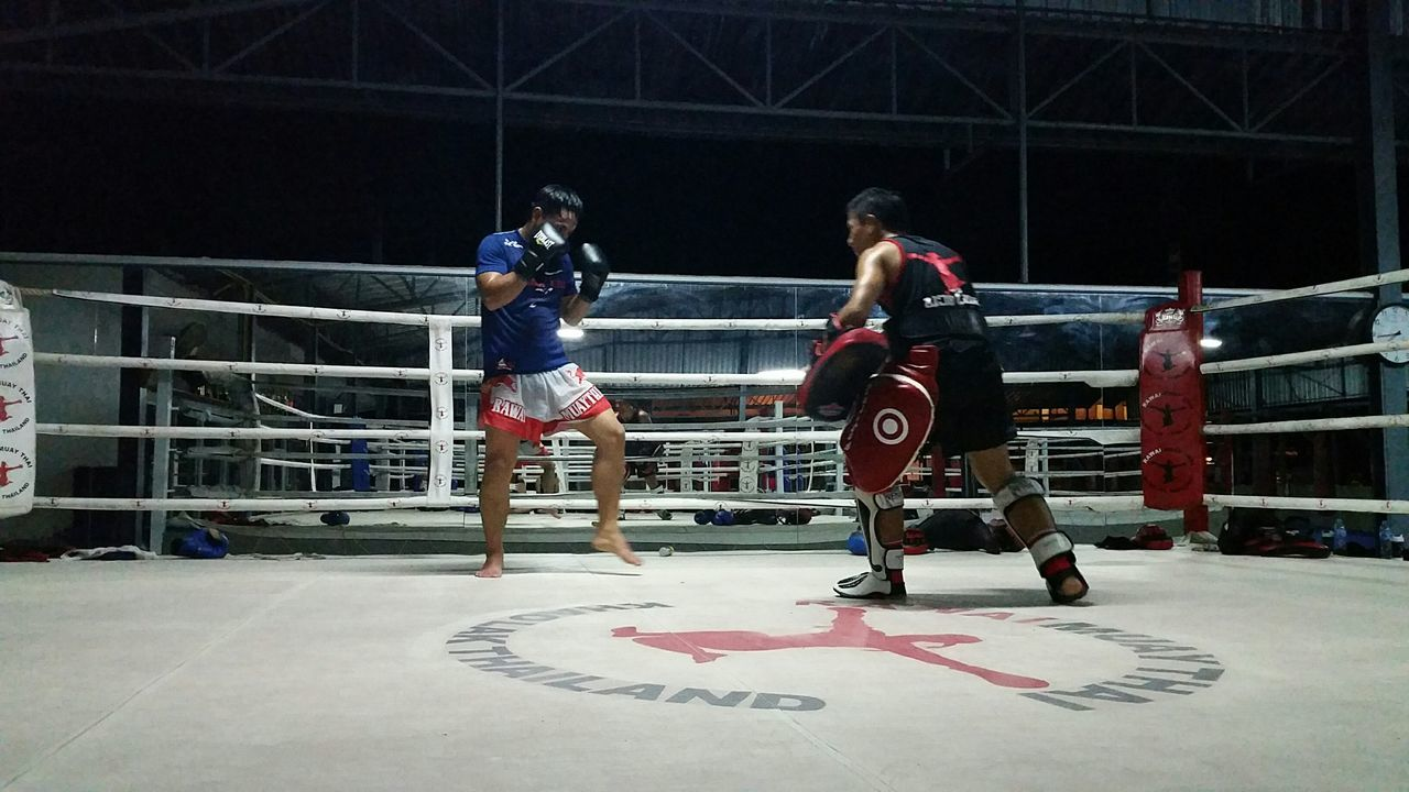 training time for olin and du Muay Thai