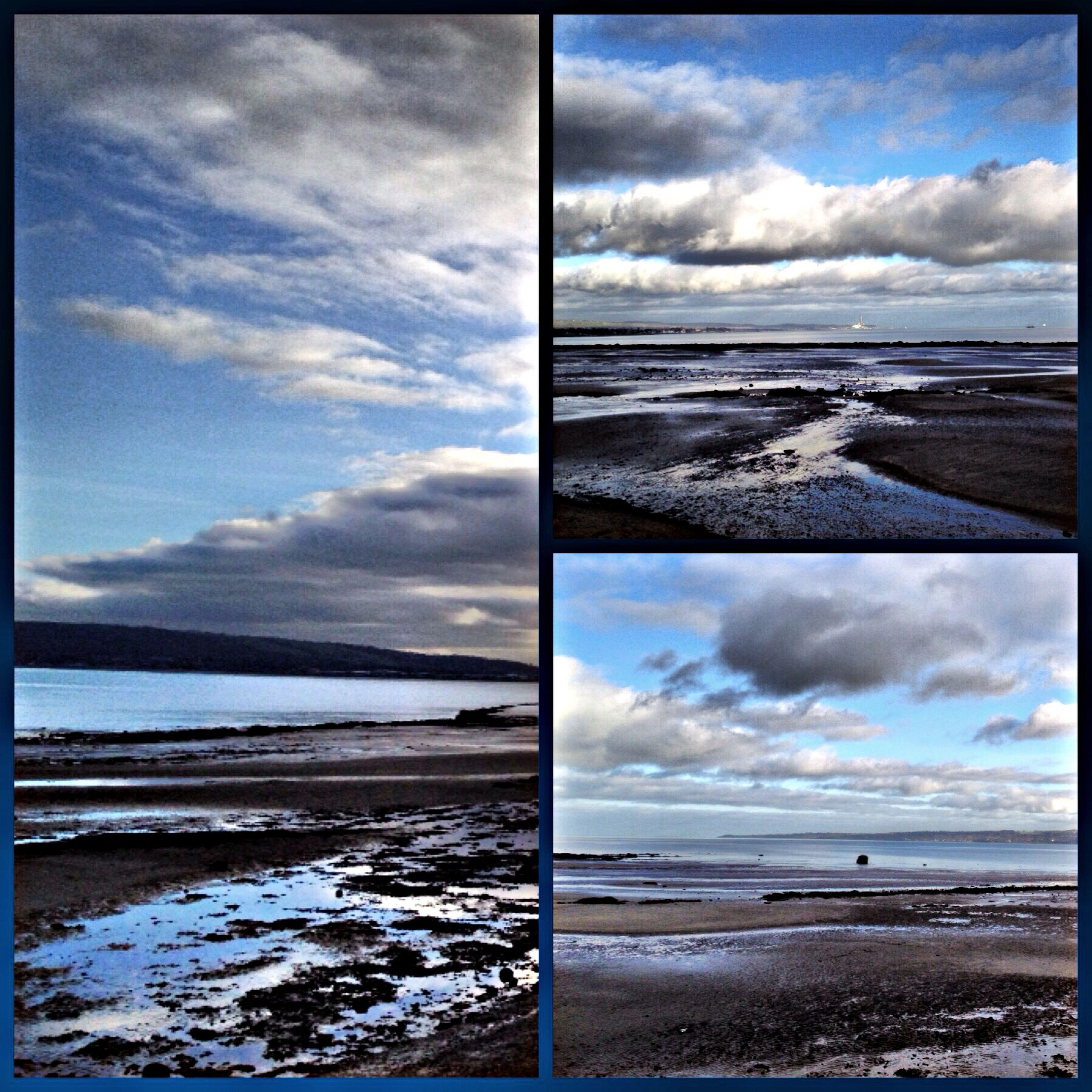 Sea Sand Clouds IPhone