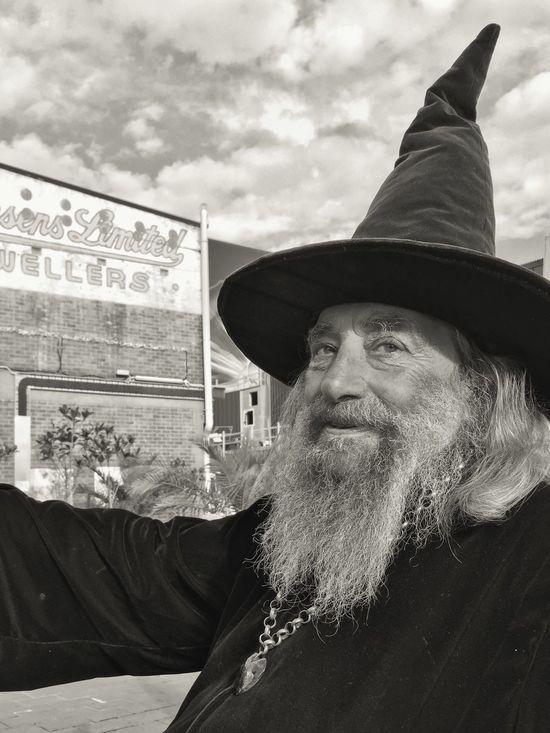 Wizard Christchurch New Zealand One of NZ's true characters. The Portraitist - 2016 EyeEm Awards