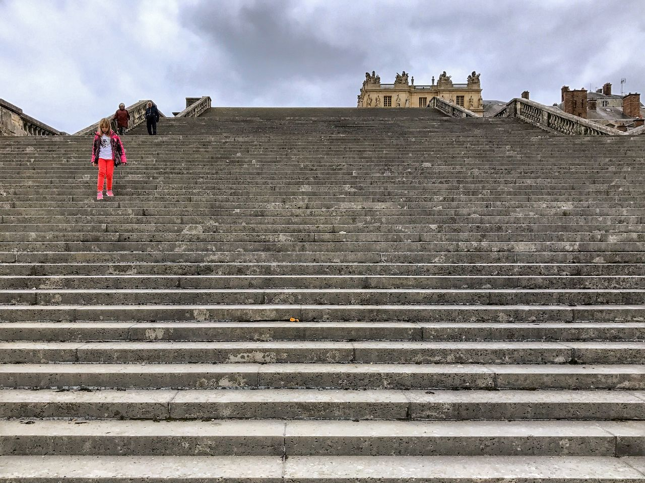 Château De Versailles  Stairs 😀 Versailles France Photooftheday Picoftheday People Architecture Streetphotography Steps Staircase Low Angle View Travel Destinations Tourist Attraction  The Street Photographer - 2017 EyeEm Awards The Architect - 2017 EyeEm Awards EyeEm Best Shots Tranquility EyeEm IPhoneography EyeEmBestPics Iphonephotography Iphoneonly Mobilephotography Outofthephone Colors