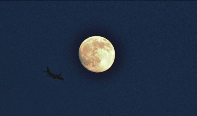 Moon Airplane EyeEm Masterclass Night