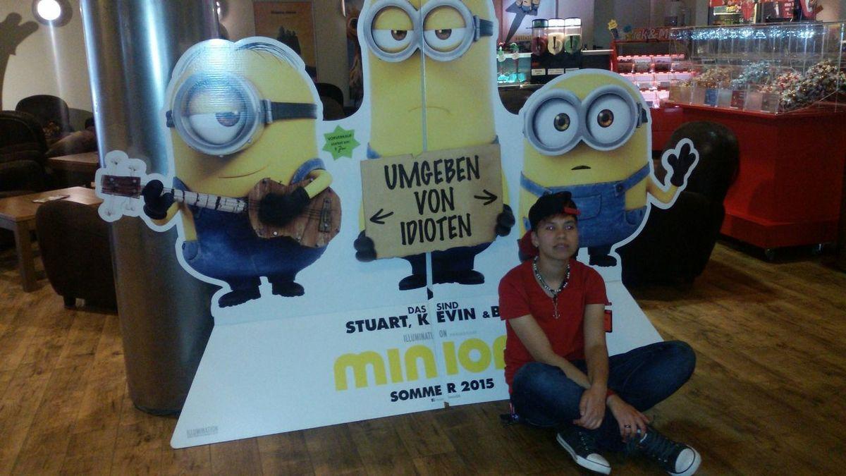 MinionLove Minion  Minions Minion Love Kino Dresden MOVIE Minions ♥♥ Me The Minions :)