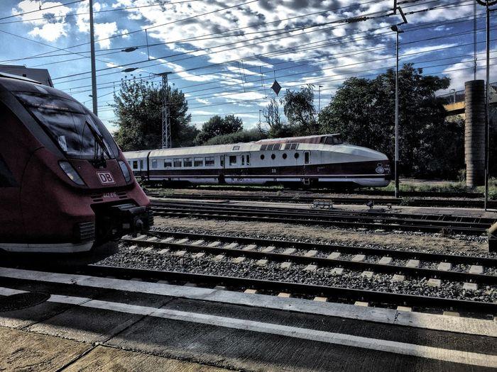 Railway Public Transportation Berlin Oldandnew