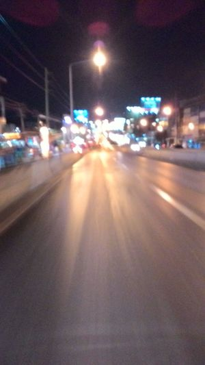 Road Changwattana On The Way Back Home Relaxing Enjoying Life Lovely