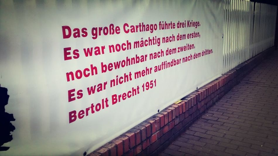 Berthold Brecht Zitat Berthold Brecht Buckow Märkische Schweiz