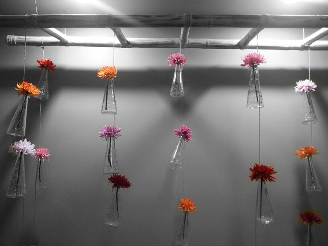 Wallflowers...Colorsplash Flowers Wall Art Taking Photos Interesting Interior Views Creativity Urban Spring Fever Showcase: April 2016