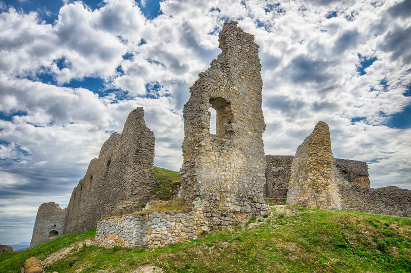Branc castle, Slovakia Branc Castle Castle Architecture Building Exterior Built Structure Cloud - Sky Day History Monument Nature No People Outdoors Ruin Sky Travel Destinations
