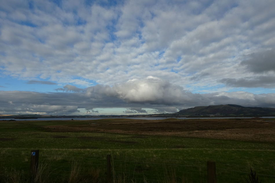 Agriculture Beauty In Nature Cloud - Sky Day Landscape Loch  Loch Leven Nature No People Outdoors Rural Scene Scenics Sky