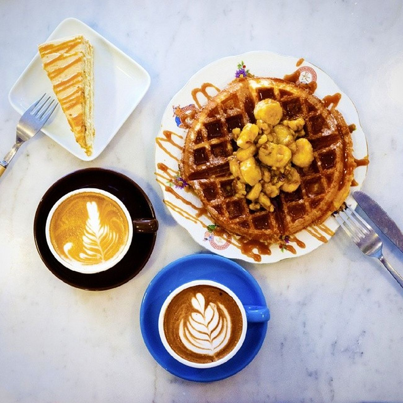 Very nice afternoon tea break! Will be here soon! Burpple Mapleandmarket Cafesg Hdbcafe teabreak cakes pastries