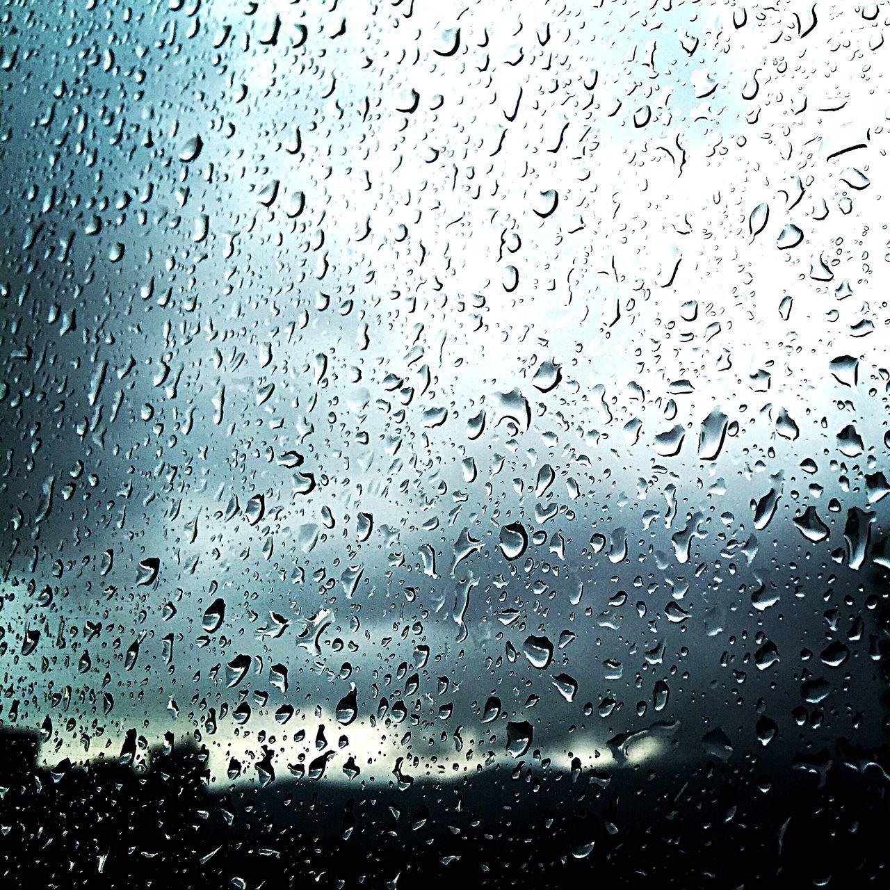 Raindrops On The Window New Taipei City Blurvision Rain Stormy Showcase July