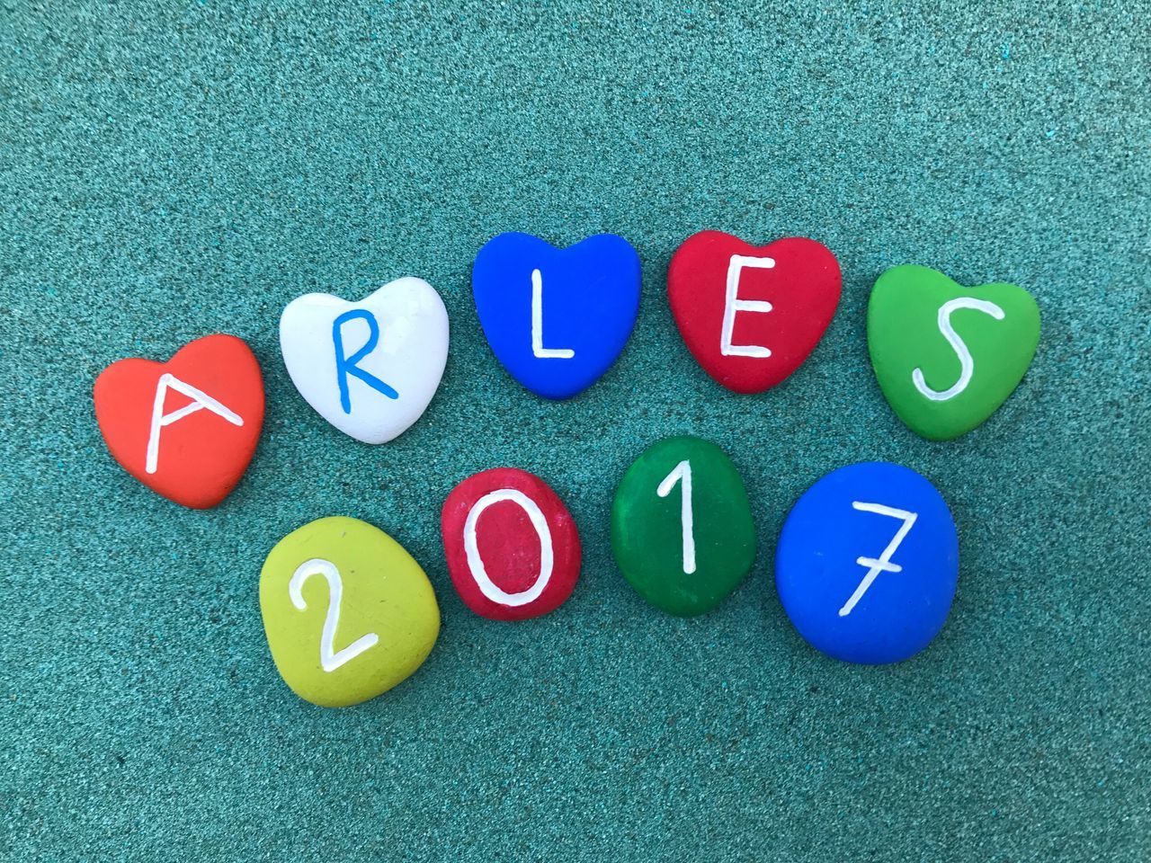 BYOPaper! Arles Arles2017 France Contest Communication Text Stones ArtWork Yournameonstones 2017