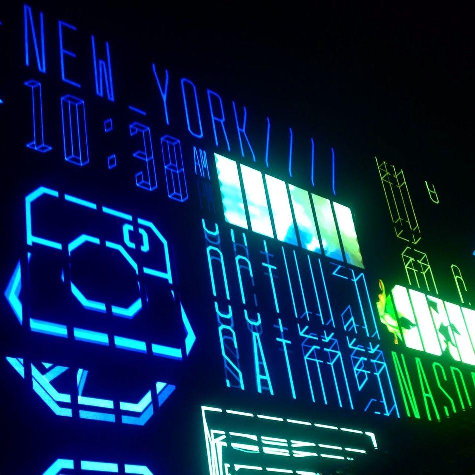 World clock! #nightlight #bangkok #thailand