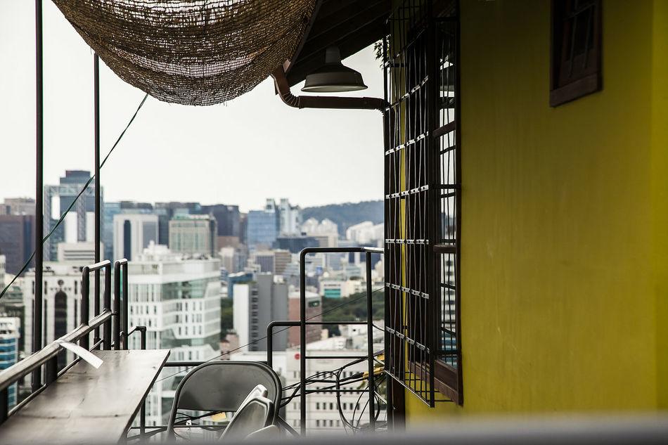 Naksan Park Haewhadong Outdoor Cafe Seoul Korea