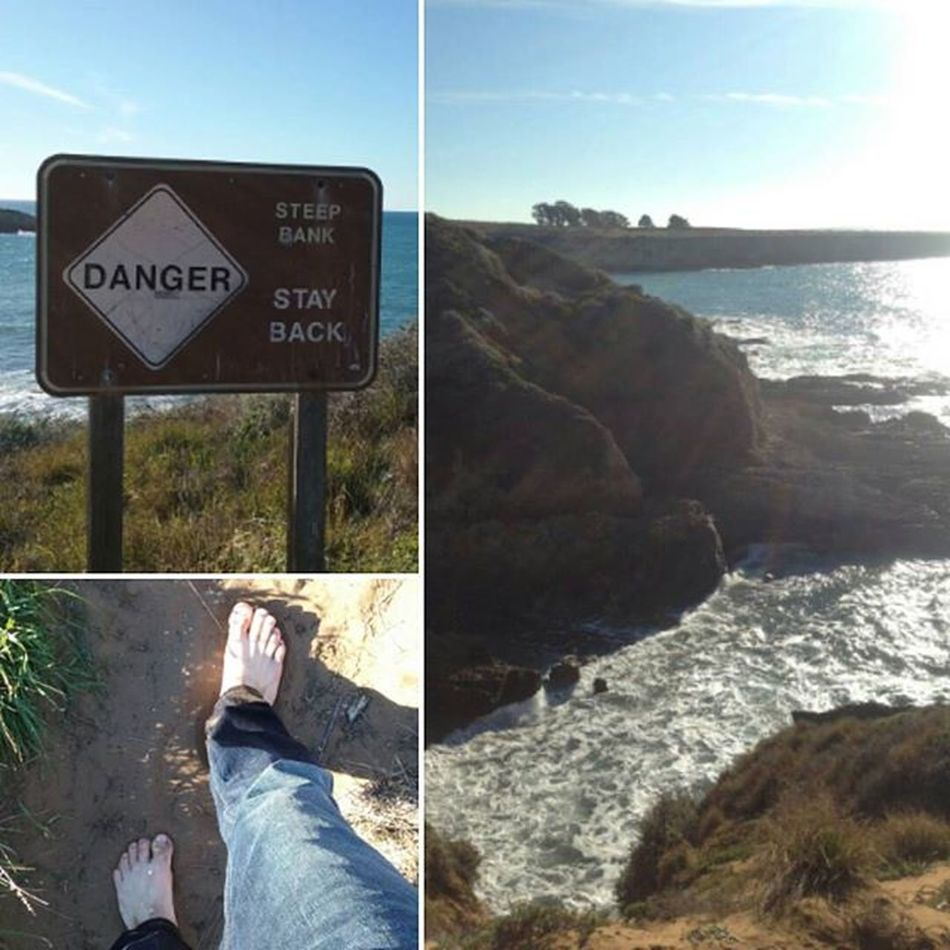 Montana de Oro in California with my 2nd family. Whenincali Beautiful Danger Ohwell