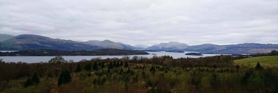 Cultures Beauty In Nature Landscape Mountain Outdoors Lake Scenics Nature No People Awe Dramatic Sky Tranquil Scene Travel Destinations Extreme Weather Tree Storm Cloud Day Loch  LochLomond Loch  Scotland Green Color First Eyeem Photo FirstEyeEmPic Wildlife & Nature