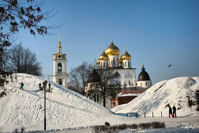 Starting A Trip Церковь собор Дмитров зима снег подмосковье Snow Eye4photography  Podmoscovye