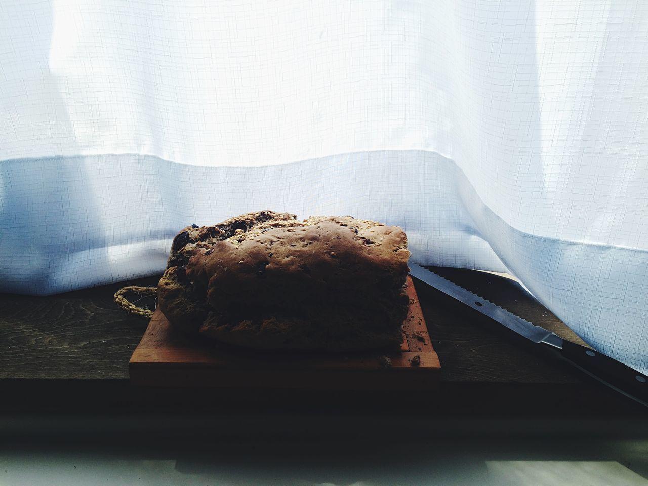 Beautiful stock photos of good morning, Bread, Chile, Curtain, Cutting Board