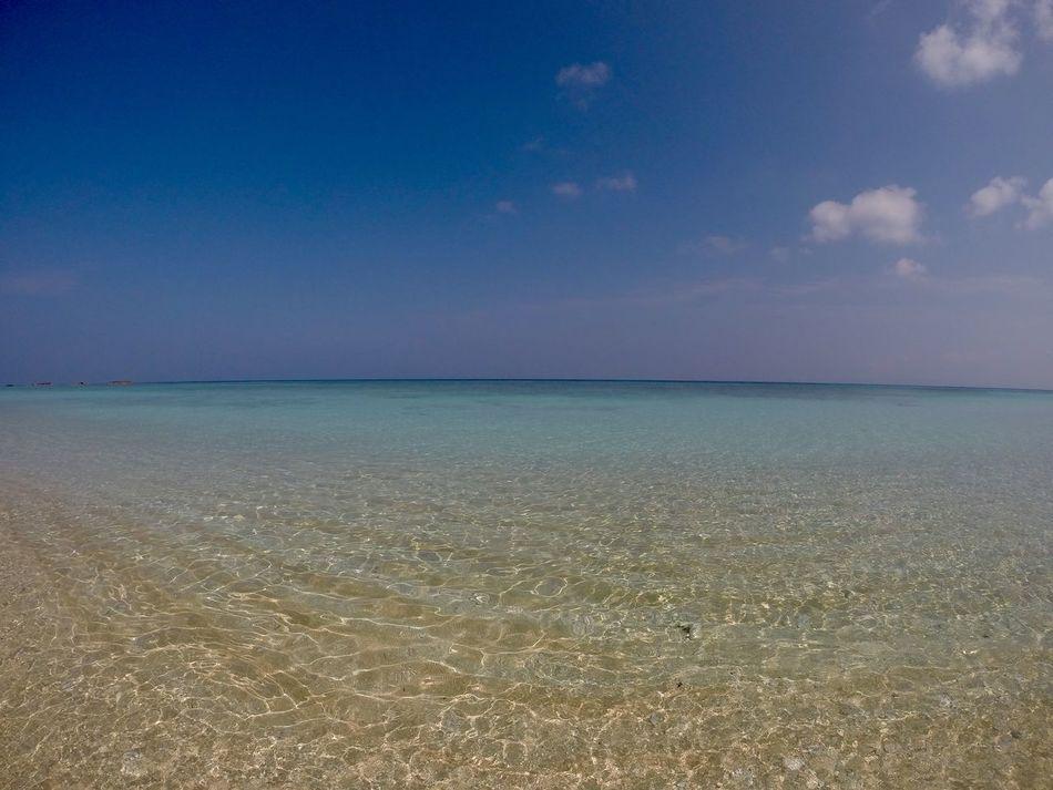 Haterumajima Okinawa Island GoPro Hero3+ Sea Hateruma Blue