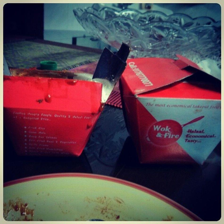 Woknfire Takeout Squid_fried_rice Prawn_fried_rice yummmmm