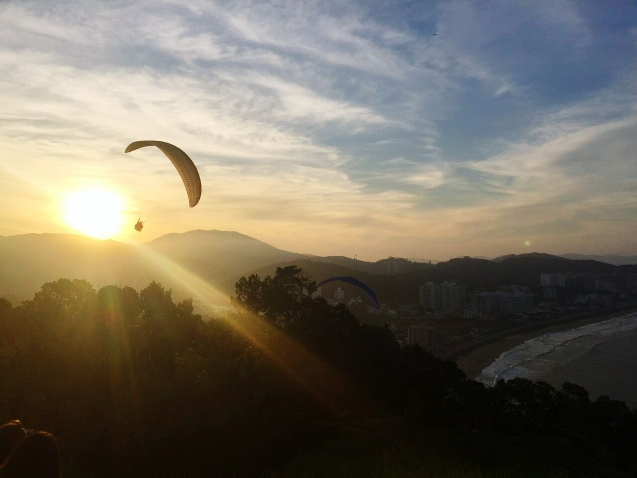 Morro do careca - por do sol do dia Sunset Sunsetoftheday Pordosol Enjoying Life Relaxing Beautiful Sunset Beautiful Day Beautiful Nature