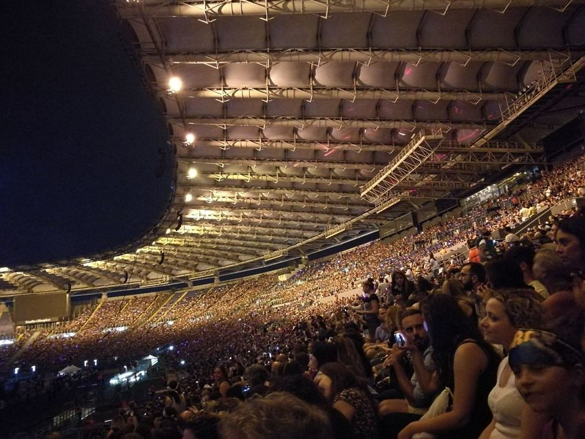 Tiziano Ferro Tour 2017 The Purist (no Edit, No Filter) Stadio Olimpico 30/Giugno/2017 Arts Culture And Entertainment Capture The Moment Color Photography Rome Italy🇮🇹 Fan - Enthusiast Performance Event Stage - Performance Space Music Performing Arts Event Popular Music Concert Outdoors Large Group Of People Crowd Match - Sport Indoors  Audience Men People Night Illuminated Adult