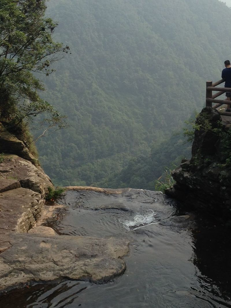 in xuedou mountain